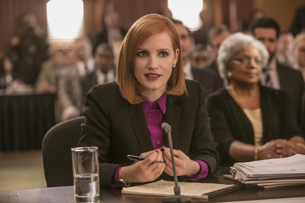 Jessica Chastain'in Politik Gerilim Filmi 'Miss Sloane'a Ait İlk Fragman Yayınlandı!