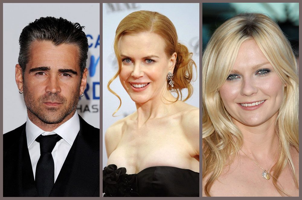 Sofia Coppola'nın 'The Beguiled' Filminde Colin Farrell, Nicole Kidman ve Kirsten Dunst Rol Alacak!