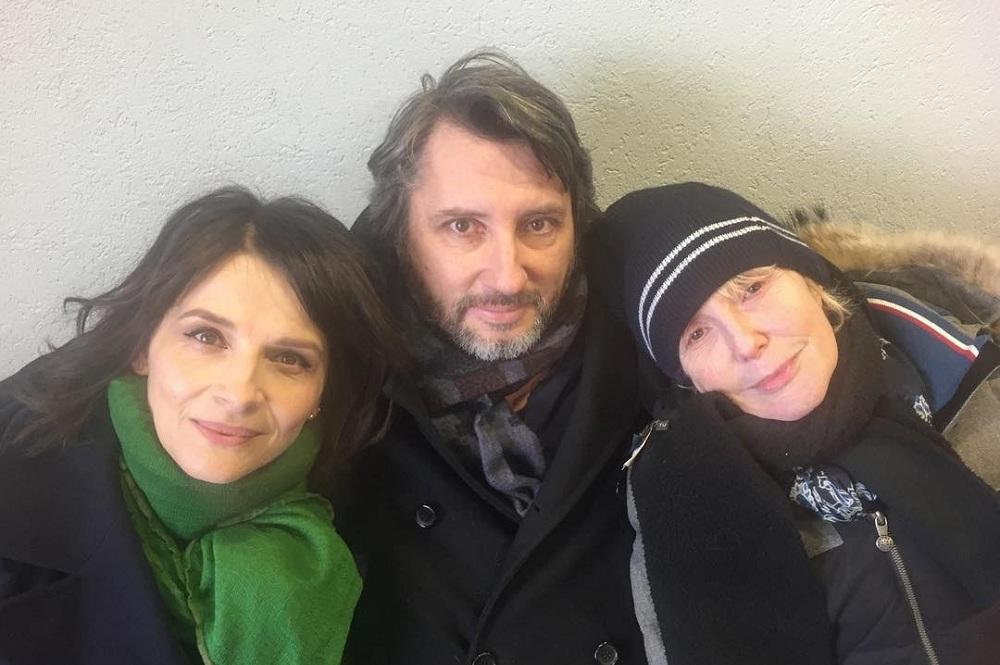 Juliette Binoche ve Gérard Depardieu'nun Rol Aldığı Claire Denis Filmi 'Dark Glasses'ın Çekimleri Tamamlandı!