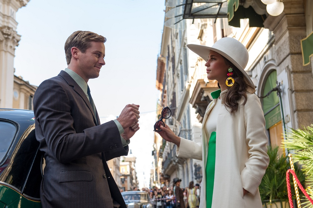 Armie Hammer, Ben Wheatley'nin 'Freakshift' filminde Alicia Vikander'e Eşlik Edecek!