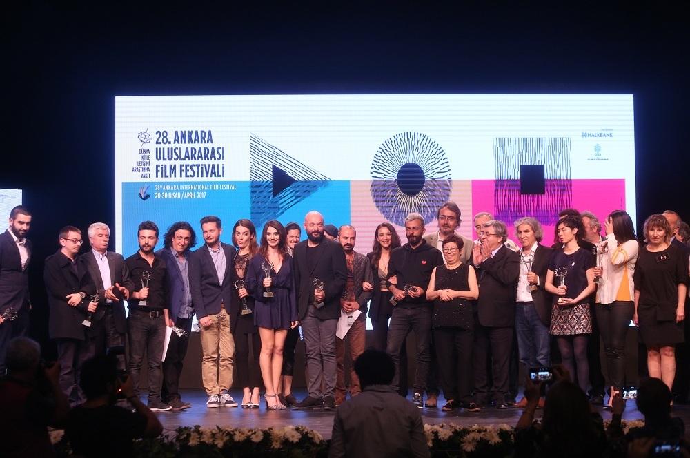 28. Ankara Uluslararası Film Festivali Ödül Töreni İle Sona Erdi!
