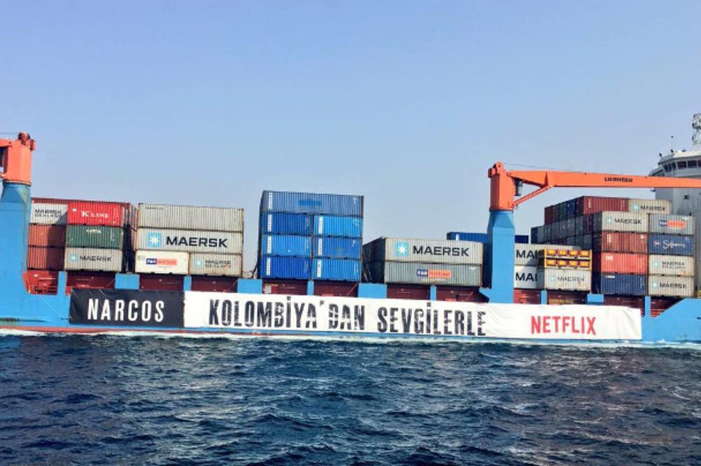 İstanbul Boğazı'nda 'Narcos' Esintisi: 'Kolombiya'dan Sevgilerle'