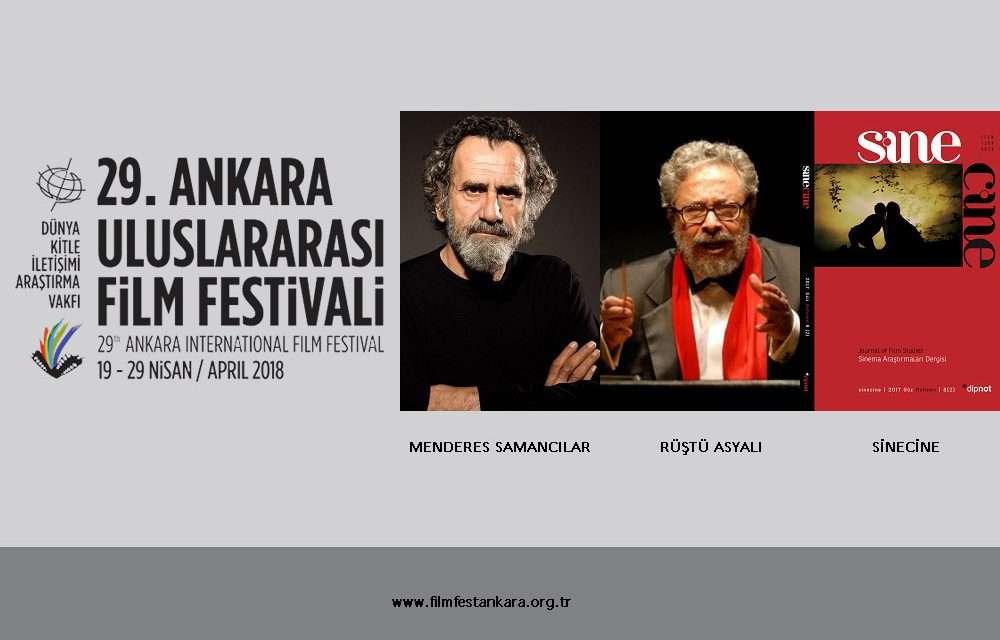 29. Ankara Uluslararası Film Festivali Onur Ödülleri Belli Oldu!