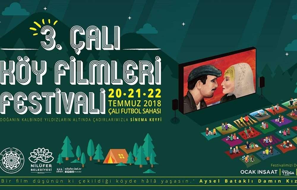 3. Çalı Köy Film Festivali Bugün Başlıyor!