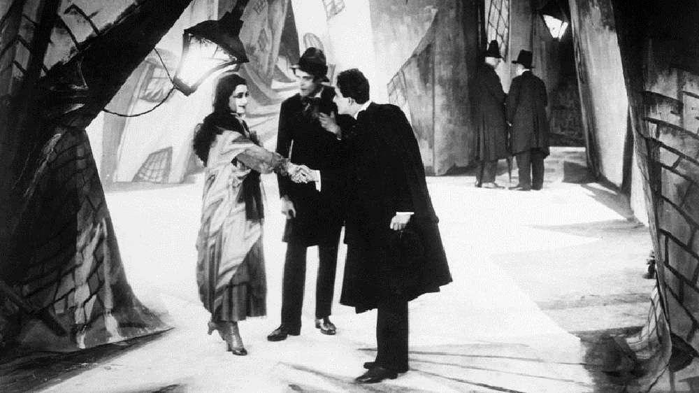 Alman sineması - Das Cabinet Des Dr. Caligari / Dr. Caligari'nin Muayenehanesi (1920)