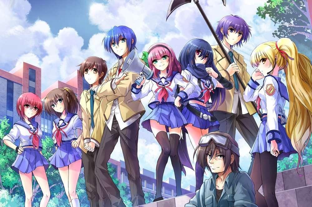 anime - Angel Beats! / 2010