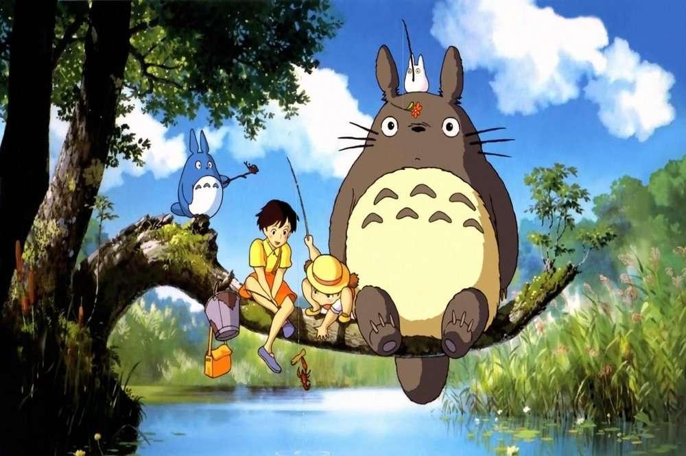 anime - My Neighbor Totoro / 1988