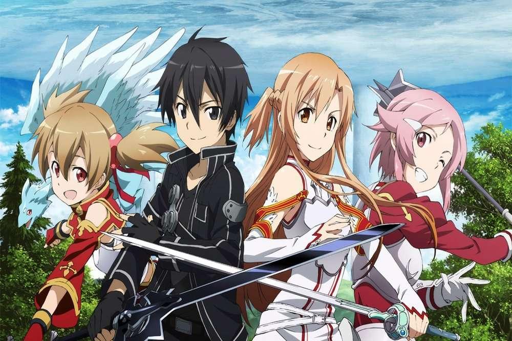 anime - Sword Art Online / 2012